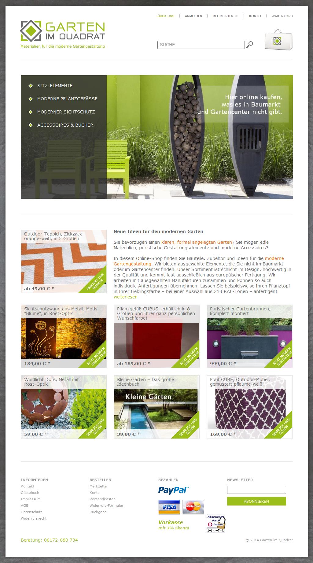 eworks referenz entwicklung eines concept stores mit oxid eshop. Black Bedroom Furniture Sets. Home Design Ideas
